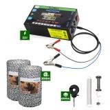 Pachet Gard Electric 2,5J putere + 2000m Fir 120Kg