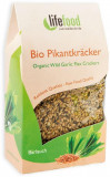 Crackers cu leurda raw bio 90g Lifefood