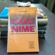 Dictionar de omonime - Gh. Bulgar