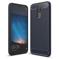 Husa Huawei Mate 10 Lite - Carbon Brushed Blue