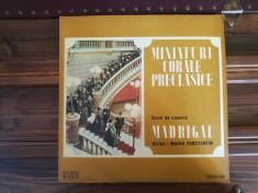 Corul de cameră Madrigal, Dir., Marin Constantin – Miniaturi Corale Preclasice foto