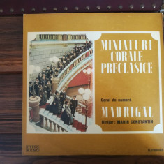 Corul de cameră Madrigal, Dir., Marin Constantin – Miniaturi Corale Preclasice