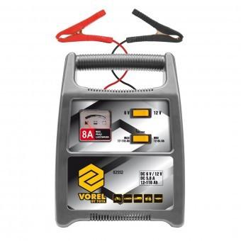 Redresor pentru baterii auto, Vorel 82552, 5.8A, 12-116Ah foto
