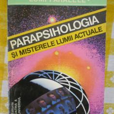 Parapsihologia si misterele lumii actuale-Cristian Negureanu-ed.Universul-Datina