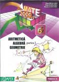 Aritmetica, algebra, geometrie pentru clasa a 6 a - Dan Branzei ( partea intai )