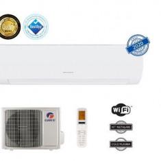 Aparat de aer conditionat Gree Muse GWH09AFB-K6DNA1A, 9000 BTU, Clasa energetica A++/A+, Wi-Fi, Inverter +, Generator Cold Plasma, Kit instalare inclu