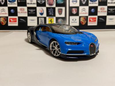 Macheta Bugatti Chiron, Welly, 1:24 foto