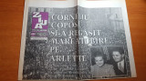Ziarul ziua 15 noiembrie 1995 - moartea lui corneliu coposu