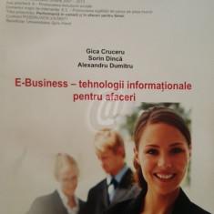 E-Business - tehnologii informationale pentru afaceri