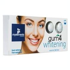 Guma de Mestecat Fara Zahar Gum4 Whitening Myelements 10buc Cod: 2999