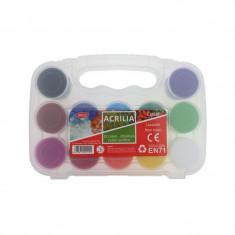 Culori acril 12 culori 20 ml Acrilia DACO