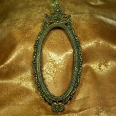 Rama bronz Baroc Victorian, sec 19, colectie, cadou, vintage