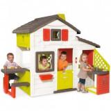 Casuta copii Smoby Friends Playhouse cu bucatarie