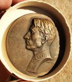 Cumpara ieftin Medalie / Placheta veche de bronz URSS