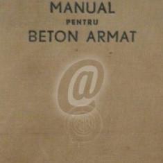 Manual pentru beton armat