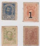 BANCNOTE TIMBRU 1913-1915/F-DIFERITE VALORI