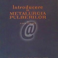 Introducere in metalurgia pulberilor