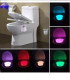 Cumpara ieftin Lampa cu LED si lumina multicolora ideala pentru iluminatul WC-ului pe timp de noapte