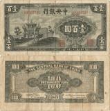 1943, 100 yuan (P-254) - China