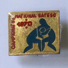 Insigna Campionatul National Satesc 1970