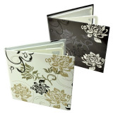 Cumpara ieftin Carcasa 4 CD DVD model Black & White, design floral