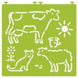 Cumpara ieftin Desenez animale domestice – cu șabloane