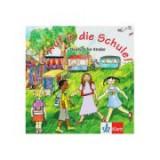Auf in die Schule! Audio-CD + Booklet. Deutsch für Kinder - Gina de la Rosa