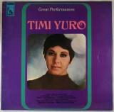 Disc Vinil - Timi Yuro – Great Performances