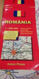 myh 63 - 40 - HARTA RUTIERA - ROMANIA - 1998 - PIESA DE COLECTIE