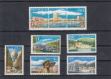 ROMANIA 1971 LP 761  TURISM SERIE MNH