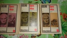 Cicero - Opere alese 3 volume foto