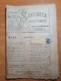 Sanatatea si viata fericita 1-15 decembrie 1919-revista de medicina populara