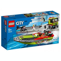 LEGO City - Transportor de barca de curse 60254