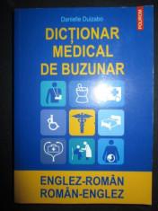 Dictionar medical de buzunar englez-roman, roman-englez-Danielle-Duizabo foto