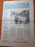 realitatea anul 1,nr. 1 din 5 ianuarie 1990-multe articole despre revolutie