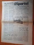Sportul 16 mai 1979-art petrolul ploiesti,daciada in jud. satu mare