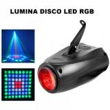 Cumpara ieftin PROIECTOR LUMINI DISCO CU LEDURI FULL COLOR RGB SCANNER MOONFLOWER 143 LEDURI., NGS