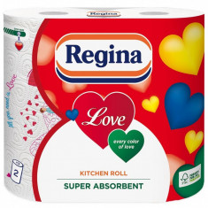 Prosop hartie Regina Love, 2 role, 3 straturi