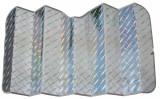 Parasolar fata Diamant - Reflex - 80x140cm - L Garage AutoRide