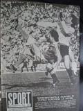 Revista Sport (1984) Dinamo-Omonia, Craiova-Betis, Steaua-Roma, FCM Brasov (pr)