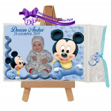 Marturii botez magneti Handmade by Diana Puiu Mickey Mouse MDBM 27
