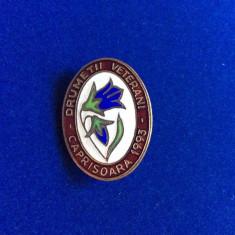 INSIGNA TURISM & DRUMETIE - DRUMETII VETERANI - CĂPRIȘOARA 1993