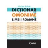 Dictionar de omonime al limbii romane - Nicolae Andrei