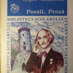 POEZII PROZA - GR. ALEXANDRESCU
