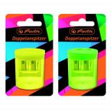 Ascutitoare Plastic Dubla Neon Art