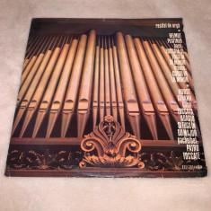 vinyl - recital de orga - bach