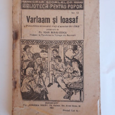 Varaam si Ioasaf - Pr. Ioan Mihalcescu  1924 /  R4P1F