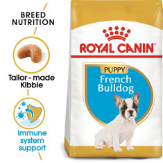 ROYAL CANIN BULLDOG FRANȚUZESC JUNIOR - 3 kg
