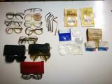 Lot obiecte vechi optica: ochelari, lentile. Ochelari vechi, de colectie!