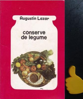 Conserve de legume Augustin Lazar foto